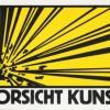 Klaus Staeck   VORSICHT KUNST! (print)